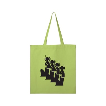 Goddess Green Tote House of Aama