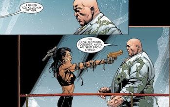 Kingpin Echo comics Hawkeye trailer