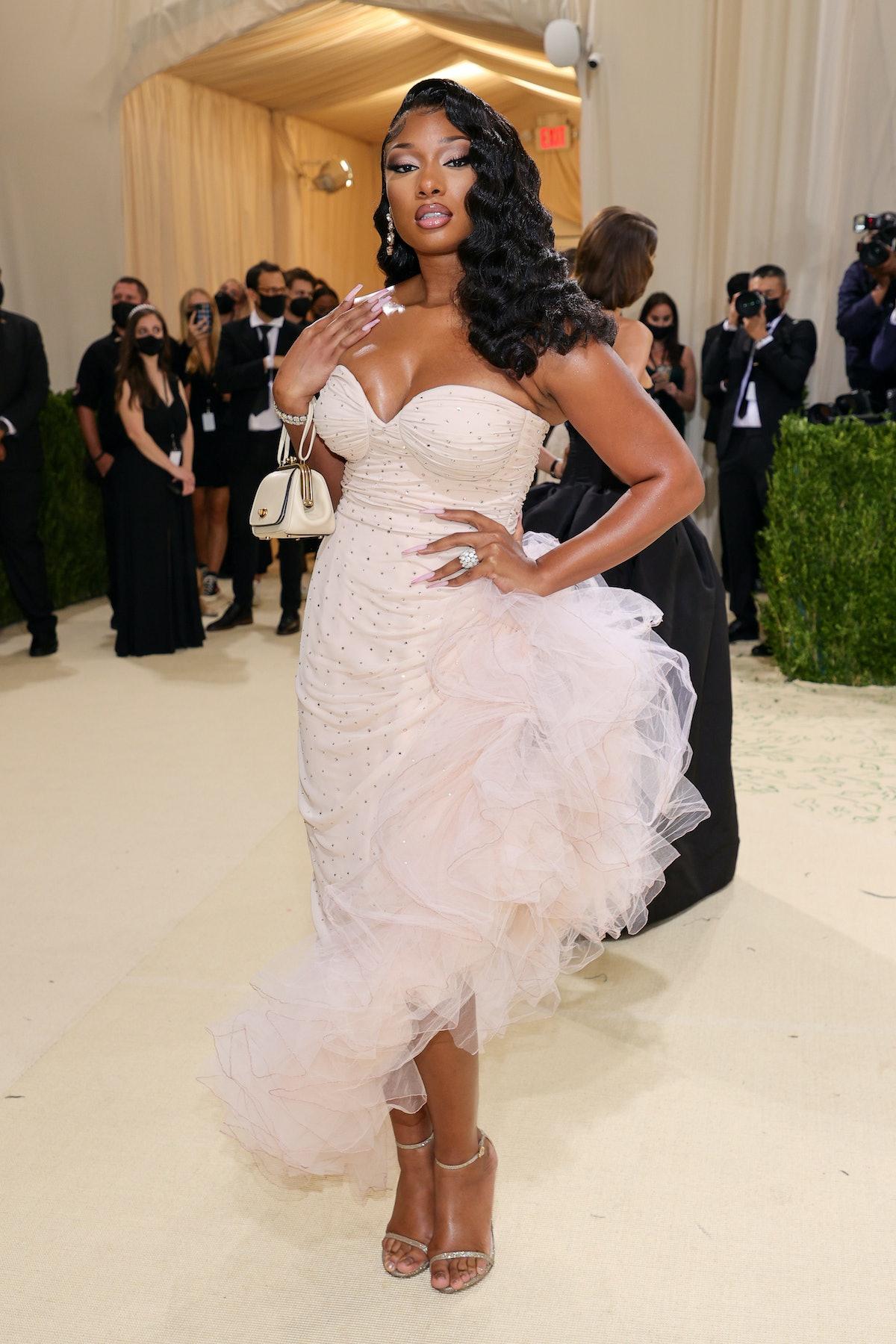 مگان تی استالیون در جشن 2021 Met Gala Celebrating In America: A Lexicon of Fashion در Metrop شرکت کرد ...