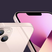 New  iPhone 13 pink color.