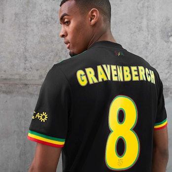 Ajax Bob Marley Third Jersey