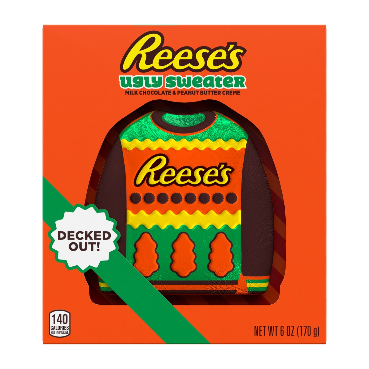 Hershey's holiday 2021 candy includes new Reese's Flavor, Grinch Kisses, and more.