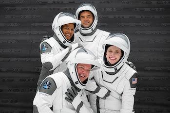 SpaceX Inspiration4 crew photo