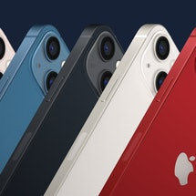 The new iPhone 13 colors.