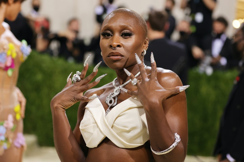 Cynthia Erivo, Pete Davidson, and other stars who wore must-see nail art looks at 2021's Met Gala.