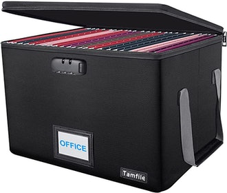 Tamfile Fireproof File Folder Box