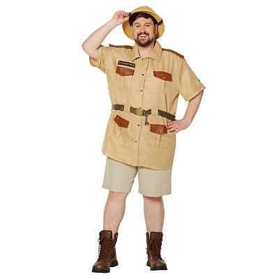 Men's Zookeeper Plus Size Costume
