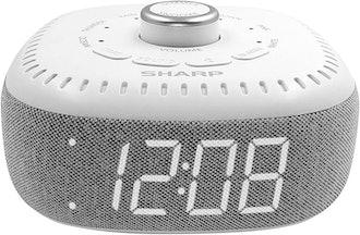 Sharp DreamCaster Sound Machine Alarm Clock With Bluetooth Speaker