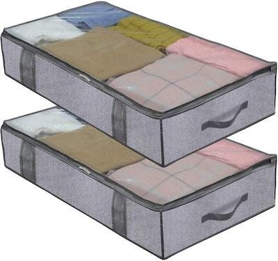 Undereasy Under-Bed Storage Bags (2-Pack)