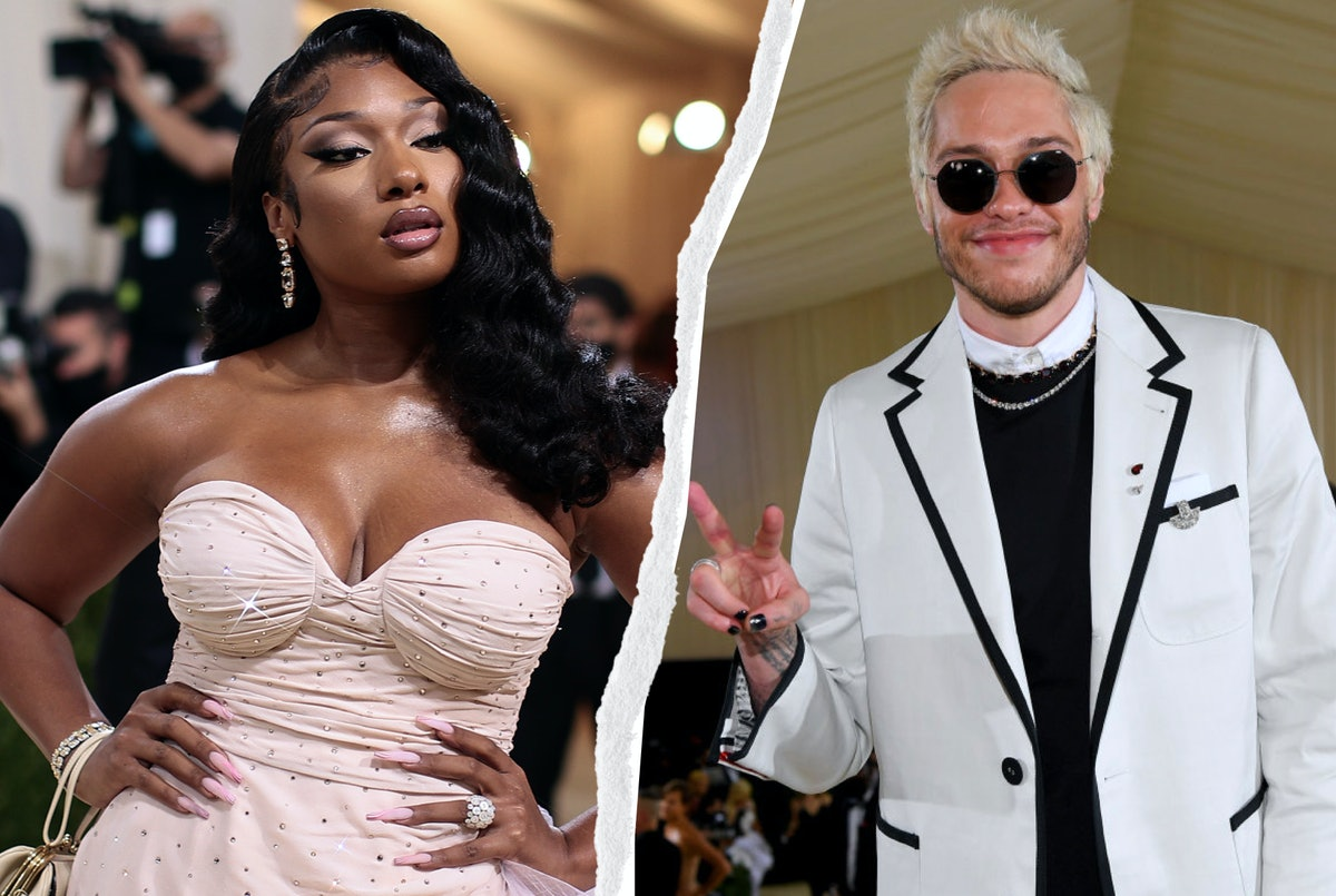 Megan Thee Stallion, Pete Davidson, and more A-listers who brought dramatic nail art looks to the 20...