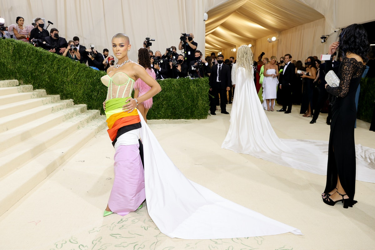 Jordan Alexander attends The 2021 Met Gala Celebrating In America: A Lexicon Of Fashion at Metropoli...