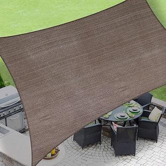 LOVE STORY Rectangle Sun Shade Patio Canopy