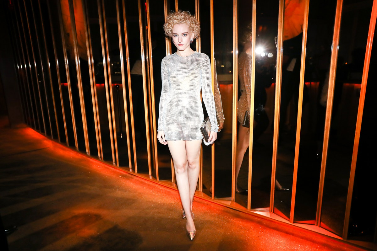 Julia Garner attends a Met Gala after-party at the Boom Boom Room on September 13, 2021.