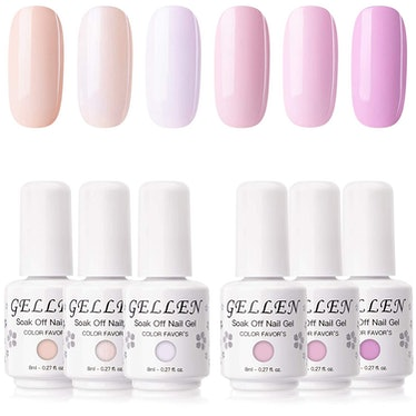 Gellen Gel Nail Polish Set Angel Pinks Series