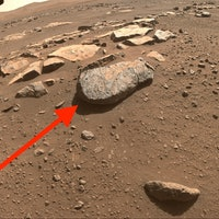 Rochette, you don't have to leave the red planet: Mars rock core stored for human pickup