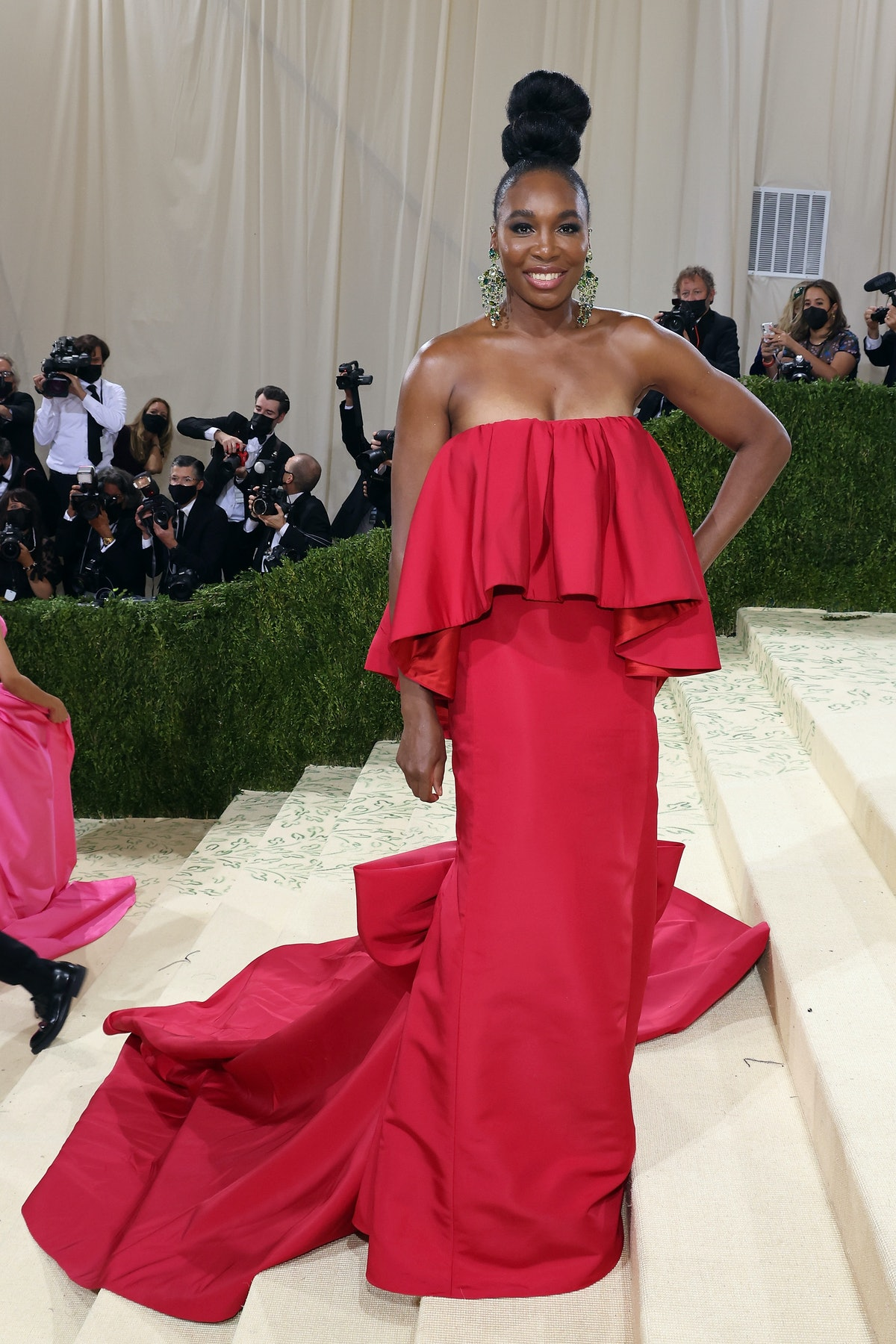 """Venus Williams attends the 2021 Met Gala benefit """"In America: A Lexicon of Fashion"""" at Metropolitan ..."""