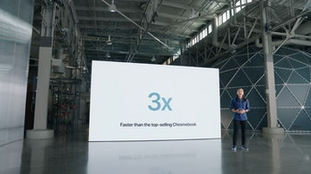 iPad 9 3 times faster than chromebook