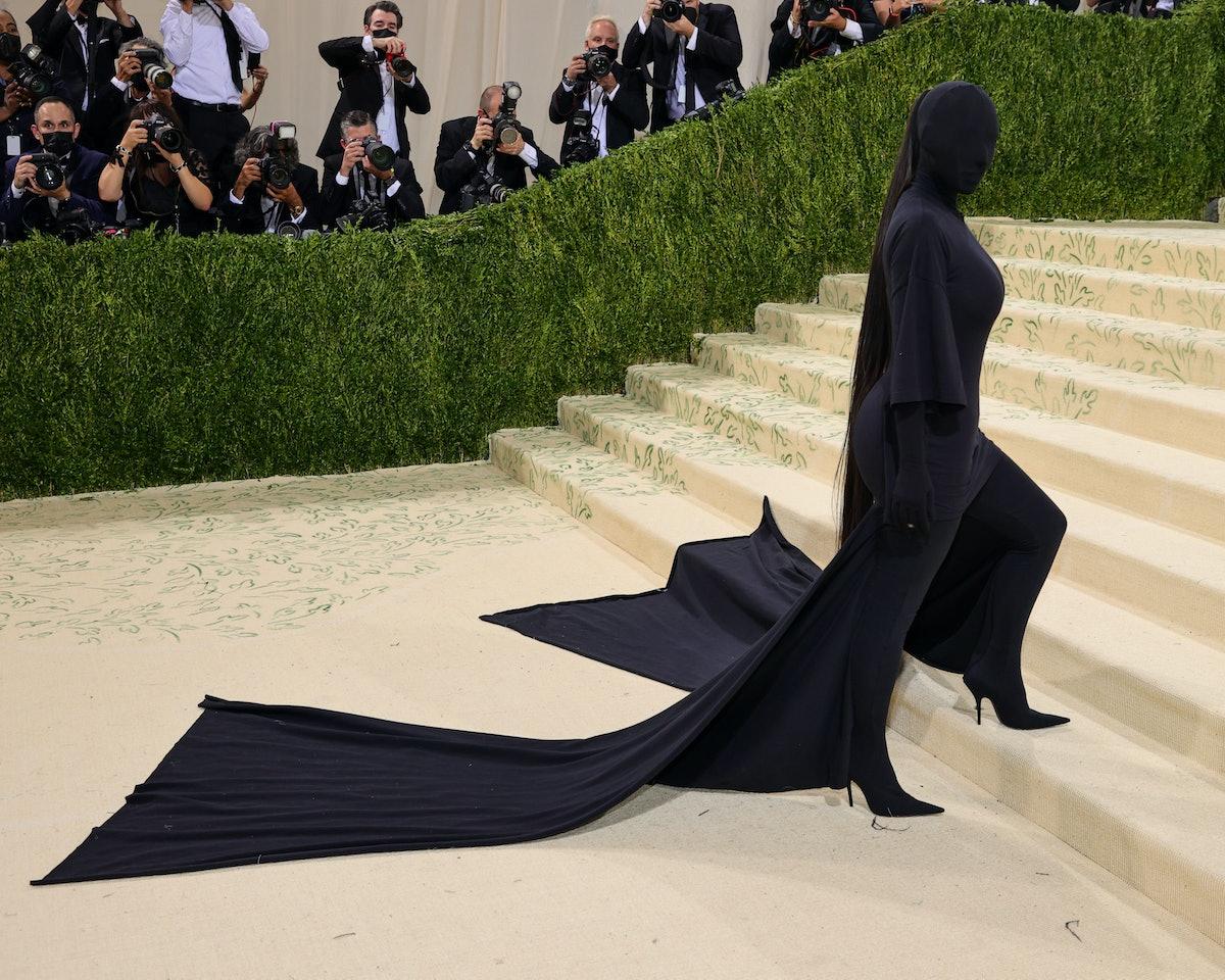 Kim Kardashian on Met Gala carpet