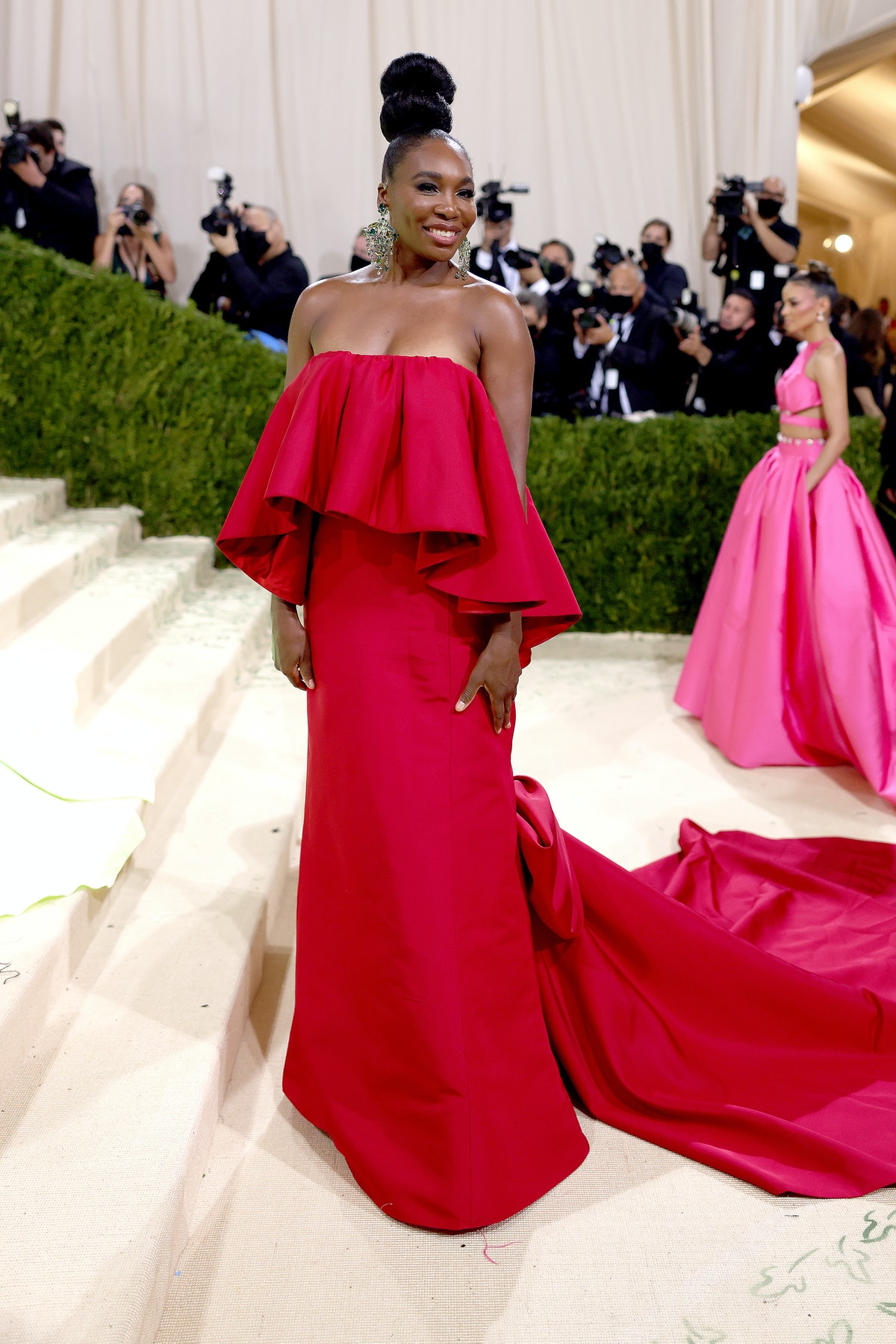 Venus Williams attends The 2021 Met Gala Celebrating In America: A Lexicon Of Fashion at Metropolit...
