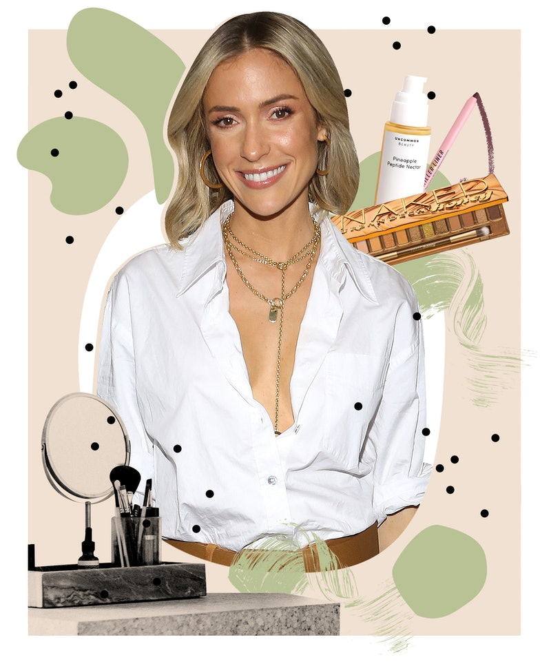 Kristin Cavallari on her beauty routine, skin care essentials, and brilliant hack for perfectly smud...