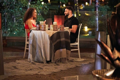 Brendan Morais and Pieper James on a one-on-one date on Bachelor in Paradise. Photo courtesy of ABC