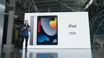 iPad 9 costs $329
