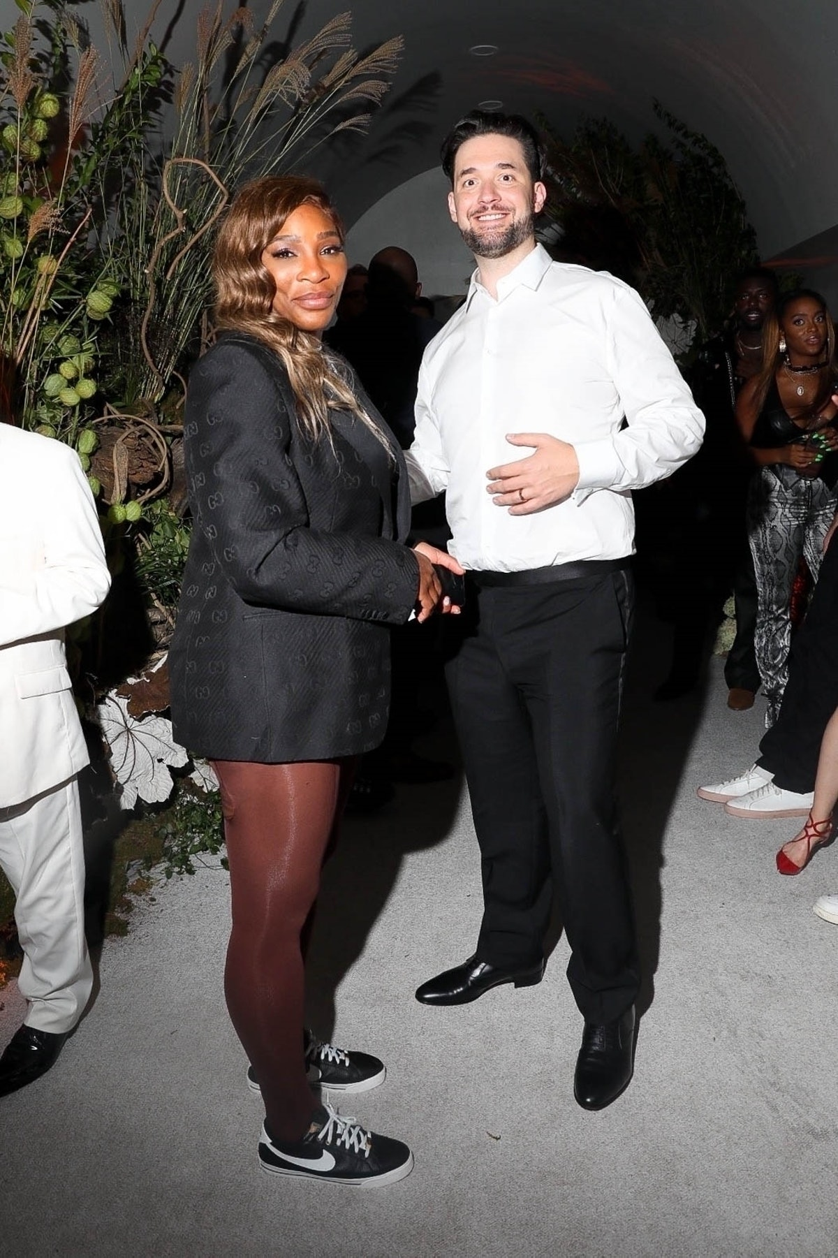 Serena Williams at an after-party for the 2021 Met Gala.