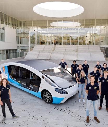 The Solar Team Eindhoven team