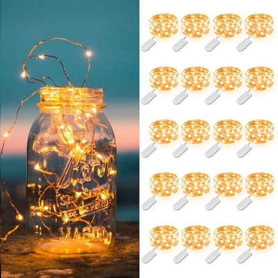 MUMUXI Battery Operated String Lights (20 Pack)