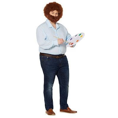 Bob Ross Plus Size Costume