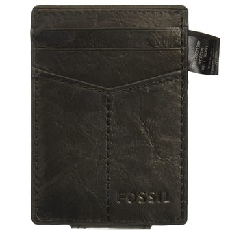 Fossil Magnetic Card Case With Money Clip
