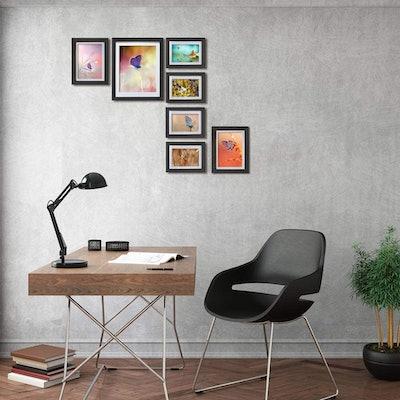 Amazing Roo Black Multi Size Frames (Set of 6)