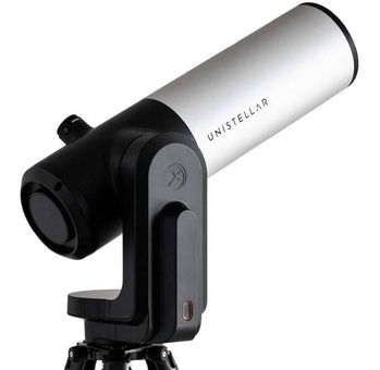 Unistellar has unveiled a new telescope that connects to an iPhone or Android smartphone.