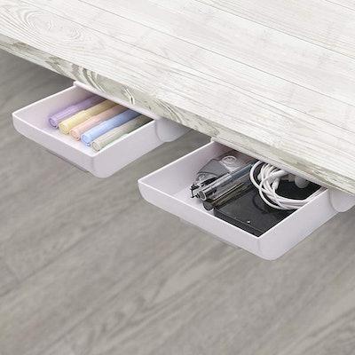 YOOUSOO Under-Desk Drawers (2-Pack)