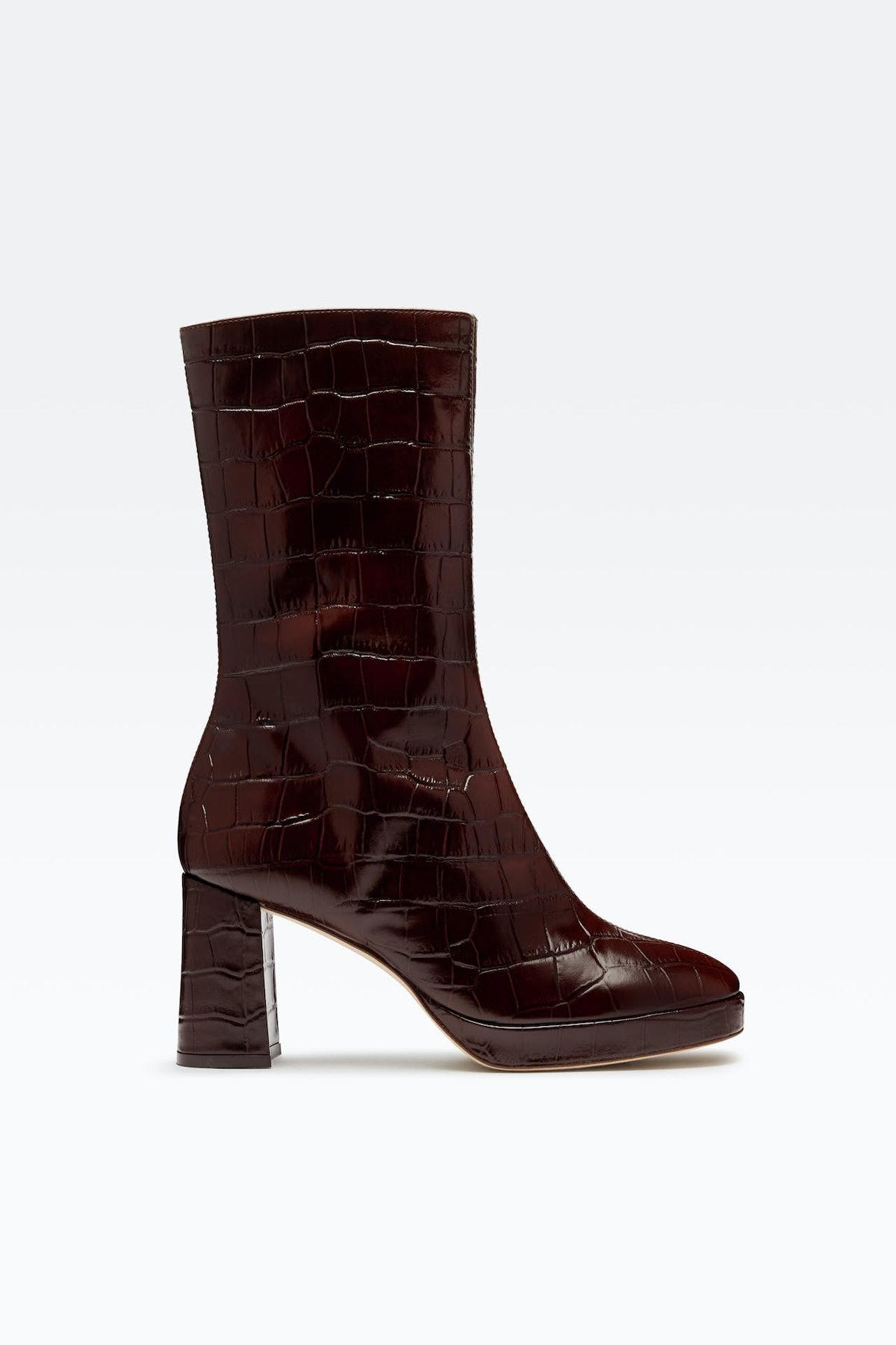 Carlota Brown Boots