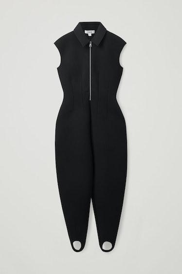 Slim-Fit Scuba Jumpsuit