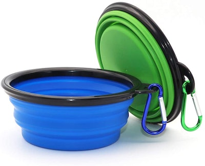 SLSON Collapsible Dog Bowl (2-Pack)
