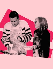 Moira's enchiladas on 'Schitt's Creek' made for one of the show's funniest moments, but the real rec...