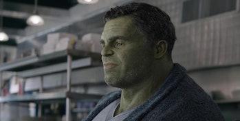 Mark Ruffalo as the Hulk in 2019's Avengers: Endgame