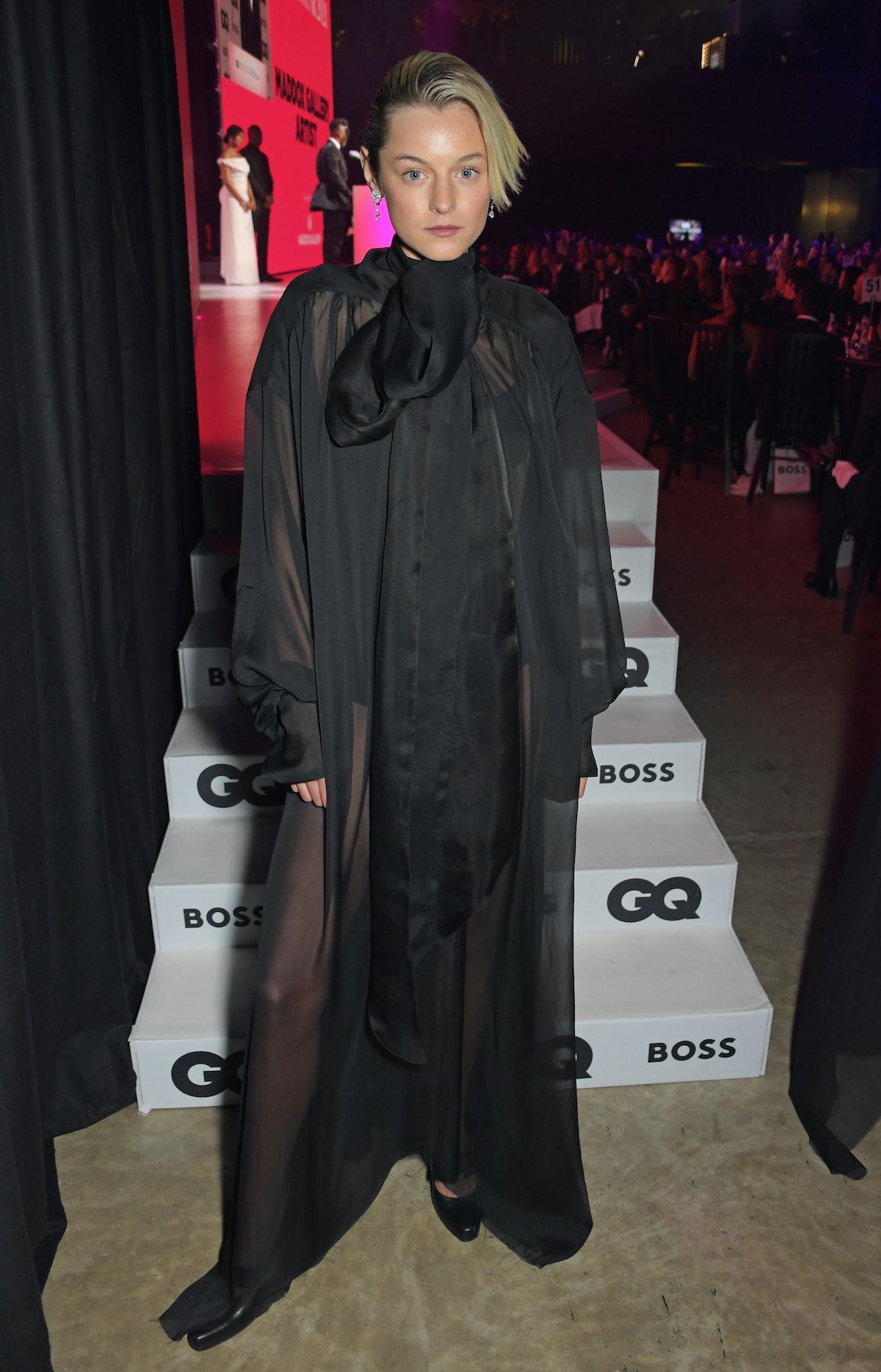 اما کورین در بیست و چهارمین دوره جوایز GQ مردان سال با همکاری BOSS در Tate Modern on Se ...