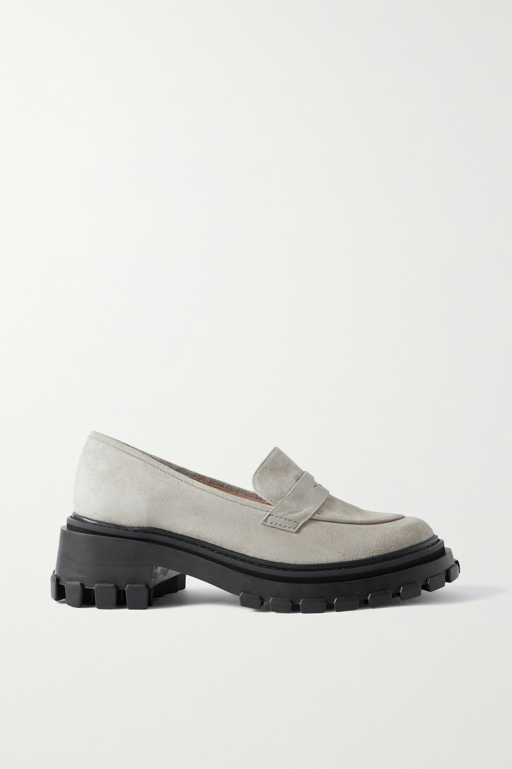 Port & Paire Suede Loafers