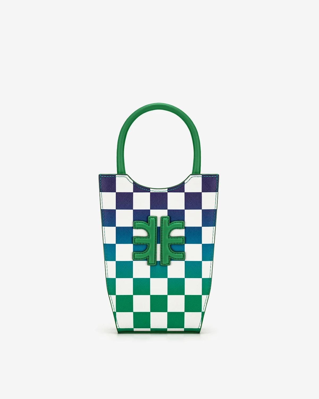 FEI Gradient Checkerboard Mini Tote Bag