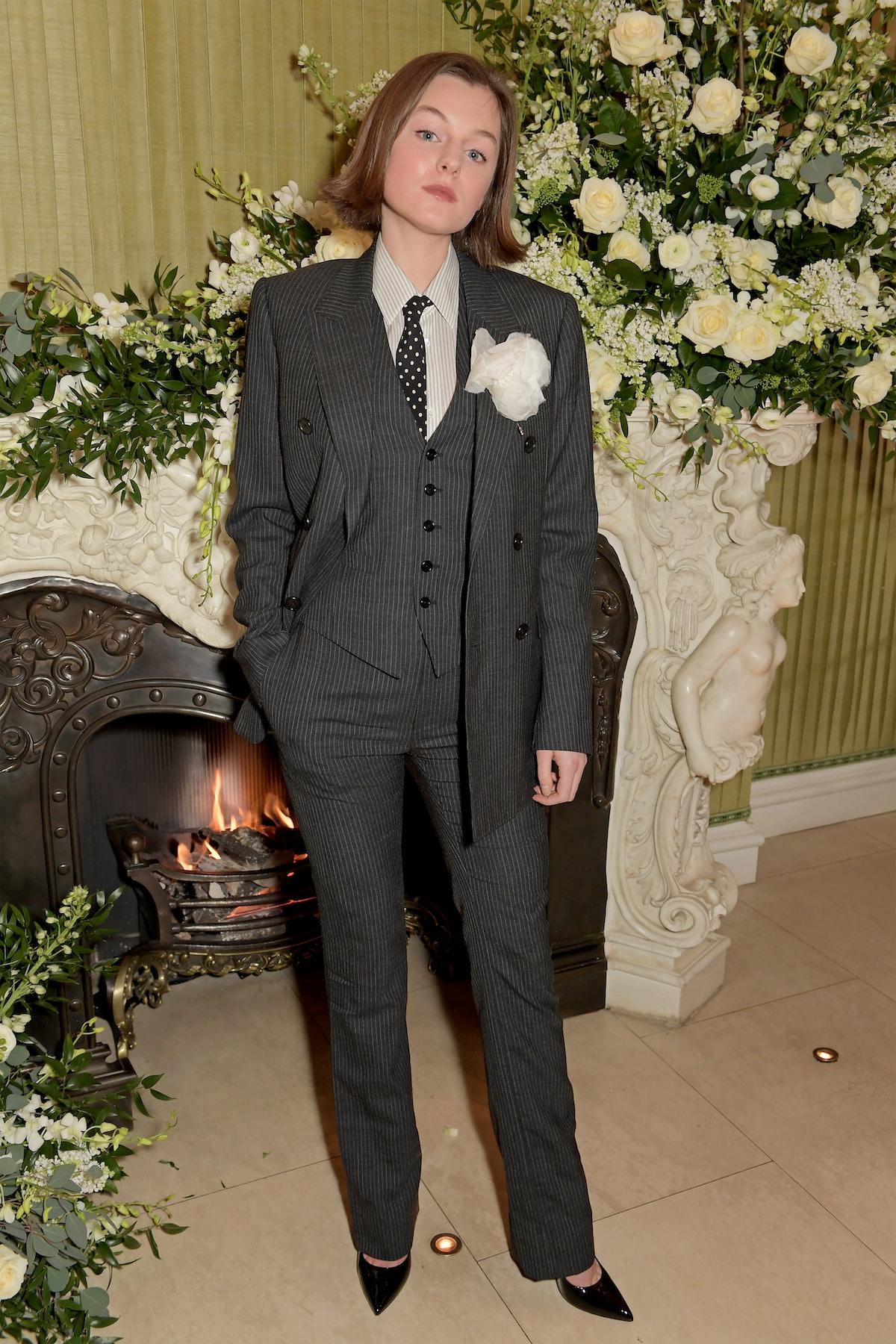 اما کورین در مهمانی فیلم ووگ بریتانیایی و Tiffany & Co. در Annabel's در فوریه شرکت می کند ...