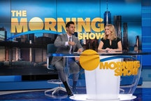 """Hasan Minhaj and Reese Witherspoon in """"The Morning Show"""" Season 2 via AppleTV+ press site."""