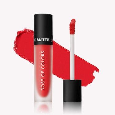 Dose Of Colors Liquid Matte Lipstick in Coral Crush