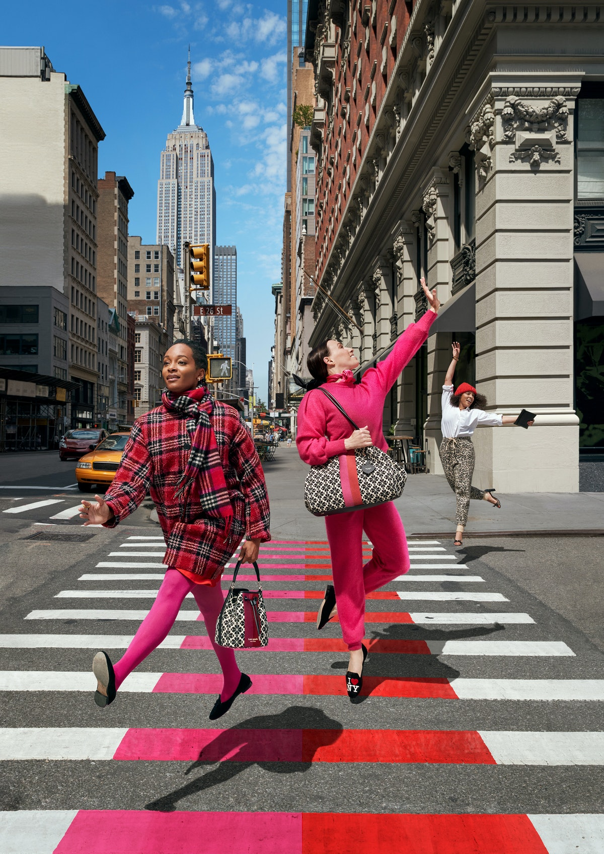Kate Spade New York Fall/Winter 2021 Campaign.