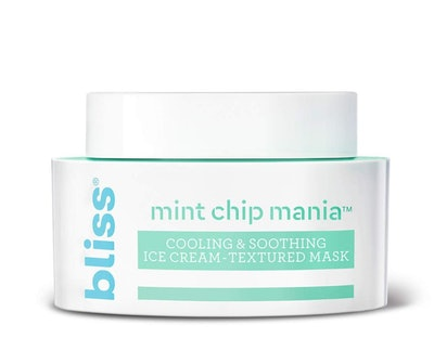 Bliss Mint Chip Mania Cooling & Soothing Facial Mask