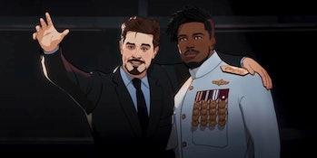 Tony Stark and Killmonger