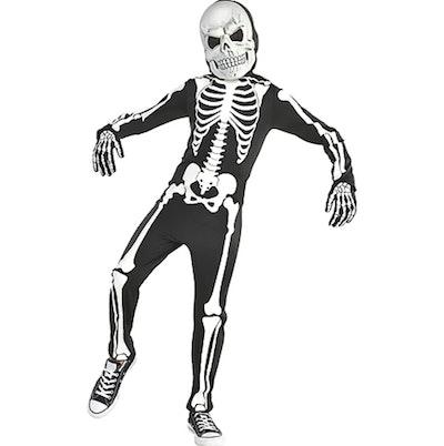 Glow-in-The-Dark X-Ray Skeleton Costume