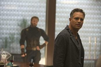 Mark Ruffalo as Bruce Banner in 2018's Avengers: Infinity War